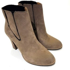 Lucky Brand Maldeev Boots Brindle Tan Leather